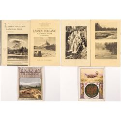 Three Lassen County Promotional Booklets