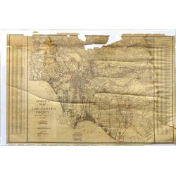 Judges Map of Los Angeles County