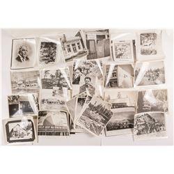 28 Vintage California Gold Rush Black and White Photos