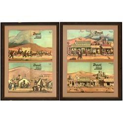 Mounted Desert Magazine Covers