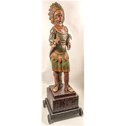 Large Cigar Store Indian from SF Store