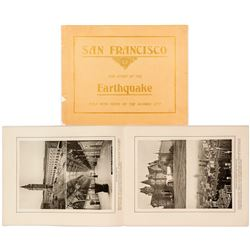 """San Francisco: The Story of the Earthquake told with Views of the Doomed City"""
