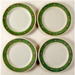 4 Sir Francis Drake Hotel Plates