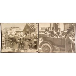 Teddy Roosevelt and Herbert Hoover(?) Photographs at PPIE