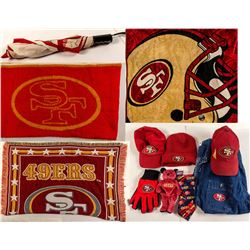 SF 49'ers Blankets and Assorted Apparel