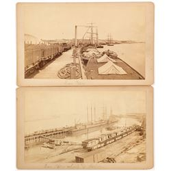 2 Choice Early San Pedro Cabinet Cards