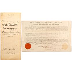 Trinity County Land Patent Recorded by Wells Fargo