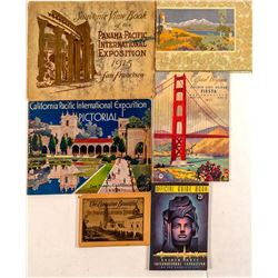 6 Different California Booklets