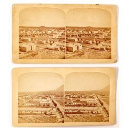 Two Early Colorado Springs Stereoviews