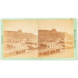 Early Golden, Colorado Stereoview