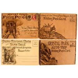4 Old Colorado Photo Folders