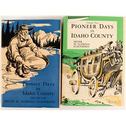 2 Volumes of Pioneer Days in Idaho County