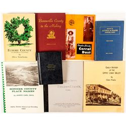 9 Volumes of Idaho County Histories