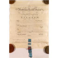1854 Medical Doctor Degree