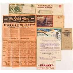 A.B. Shubert Fur Catalogs Plus a Trapper Catalog