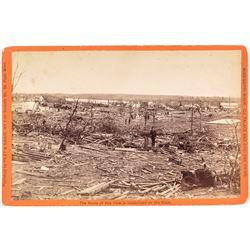 Photograph of Sauk Rapids Cyclone Wreckage - Killing 72!