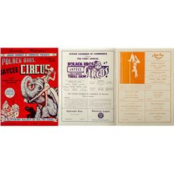 Polack Bros. Circus  Advertising Booklet
