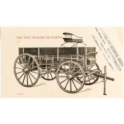 The Bain Wagon Trade Card