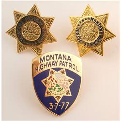 Montana Highway Patrol Pins