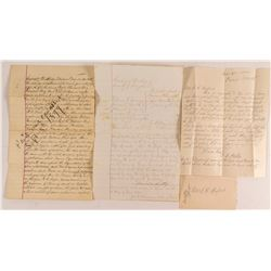 19th Century Montana Manuscript Documents