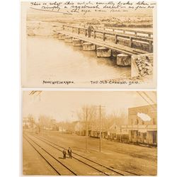 Two Early, Nice Lovelocks, Nevada Real Photo Postcards