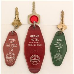 3 Reno, NV Key Fobs