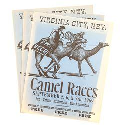 Original Camel Race Posters