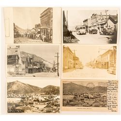 Virginia City Street Scene Postcards