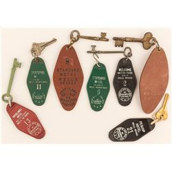 7 Different Wells, NV Key Fobs
