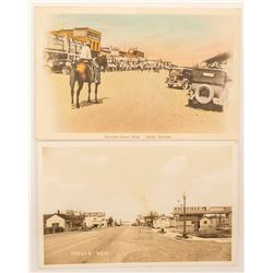 Two Wells, Nevada Postcards