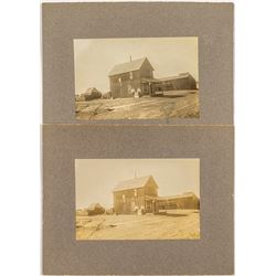 Early Kirkland Lumber Company Mounted Photographs