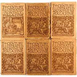 The Century Illustrated, 6 Volumes, 1886-1891