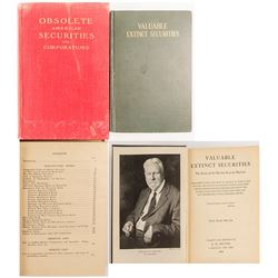 Valuable Extinct Securities 1929 and Obsolete American Securities and Corporations 1904