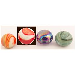 Grooved Glass Suicide Knobs