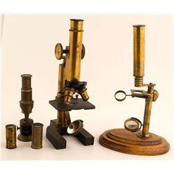 3 Assorted Microscopes