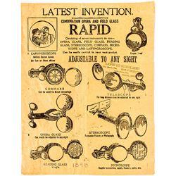 Scientific Instrument Advertising