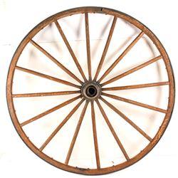 Wooden Buggy Wheel