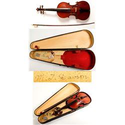Eduard Reichert Tone Violin, Bow and Case