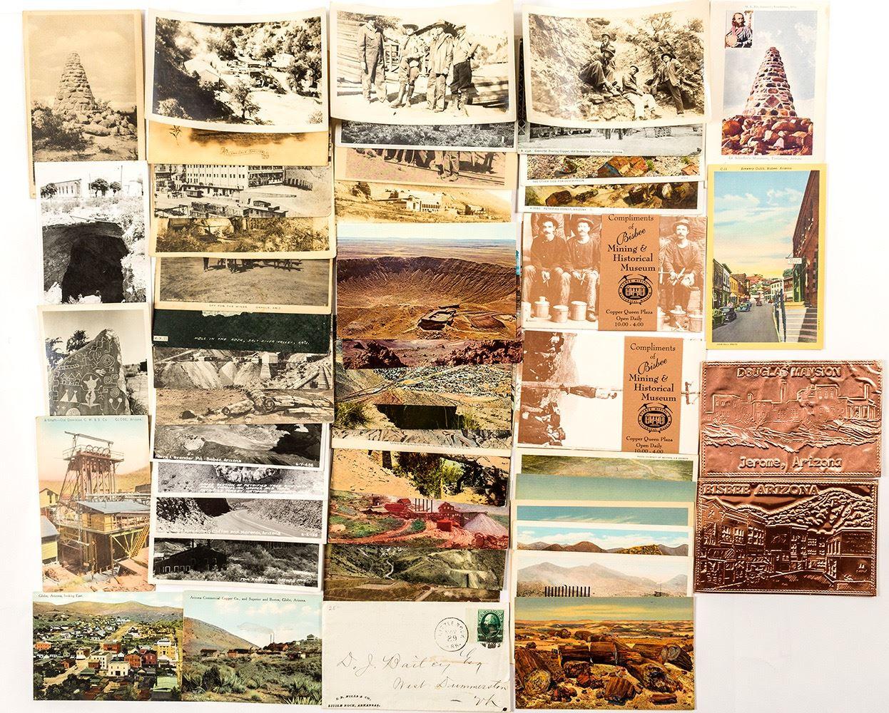 Arizona Postcard Collection with 1 RPC (49)