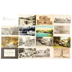 Connecticut Postcards and Quarry Ephemera
