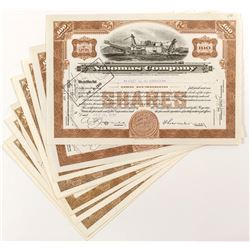 Natomas Company Mining Stock Certificates (11)