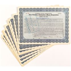 New Almaden Quicksilver Mines Corporation Certificates (15)