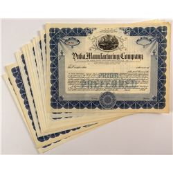Yuba Manufacturing Company Certificates (23)