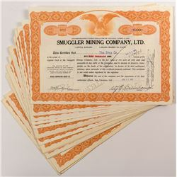Muggler Mining Company LTD. Stock Certificates (24)