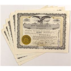 Silver Star-Queens Mines, Inc. Certificates (5)