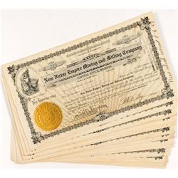 New Victor-Empire Mining and Milling Co. Stock Certificates (17)