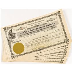 New Victor-Empire Mining and Milling Co. Stock Certificates (13)