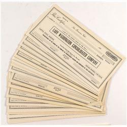 Lady Washington Consolidated Stock Certificates (46)