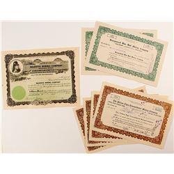 Goldfield Nevada Mining Stock Certificates (7)