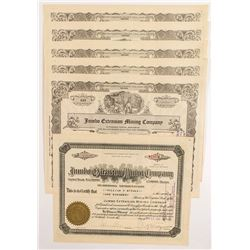 Jumbo Extension Mining Stock Certificates (6)